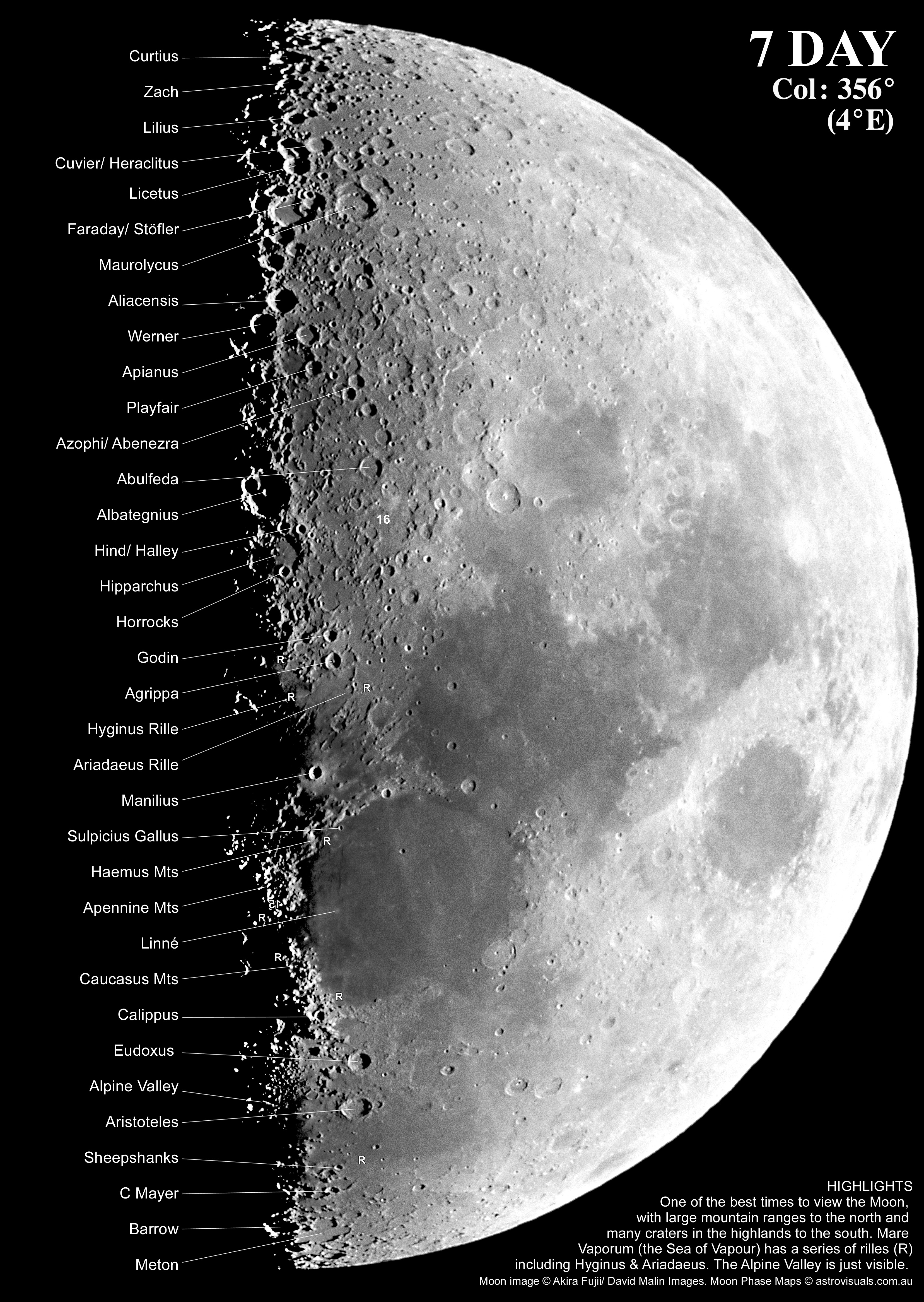 AF11-28. The Moon© Akira Fujii/DMIImage supplied by David Malin Images