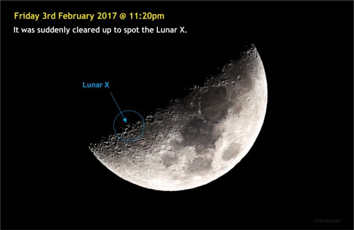 170203-002 Lunar X crater (photo)